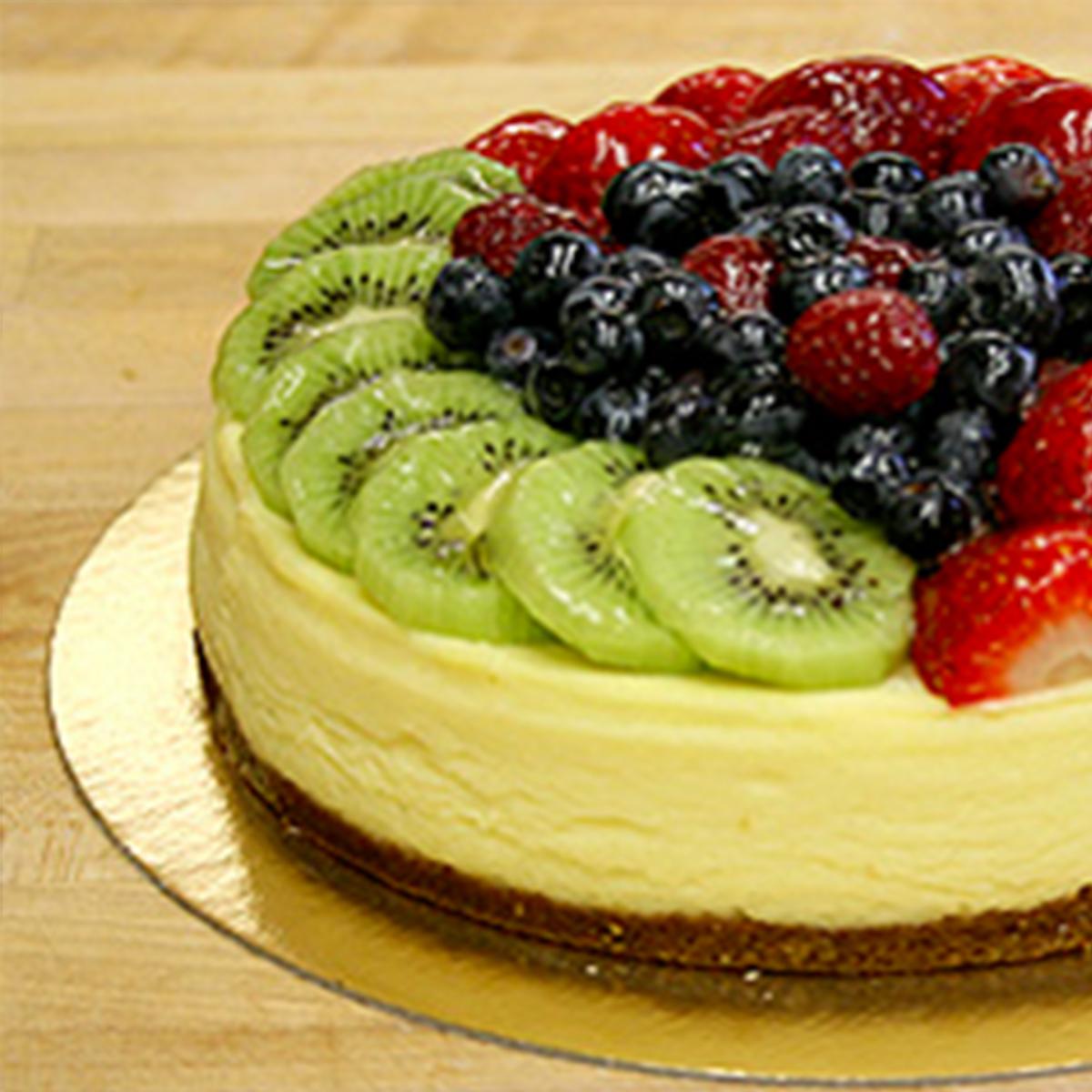 Fresh Fruits Cheesecake