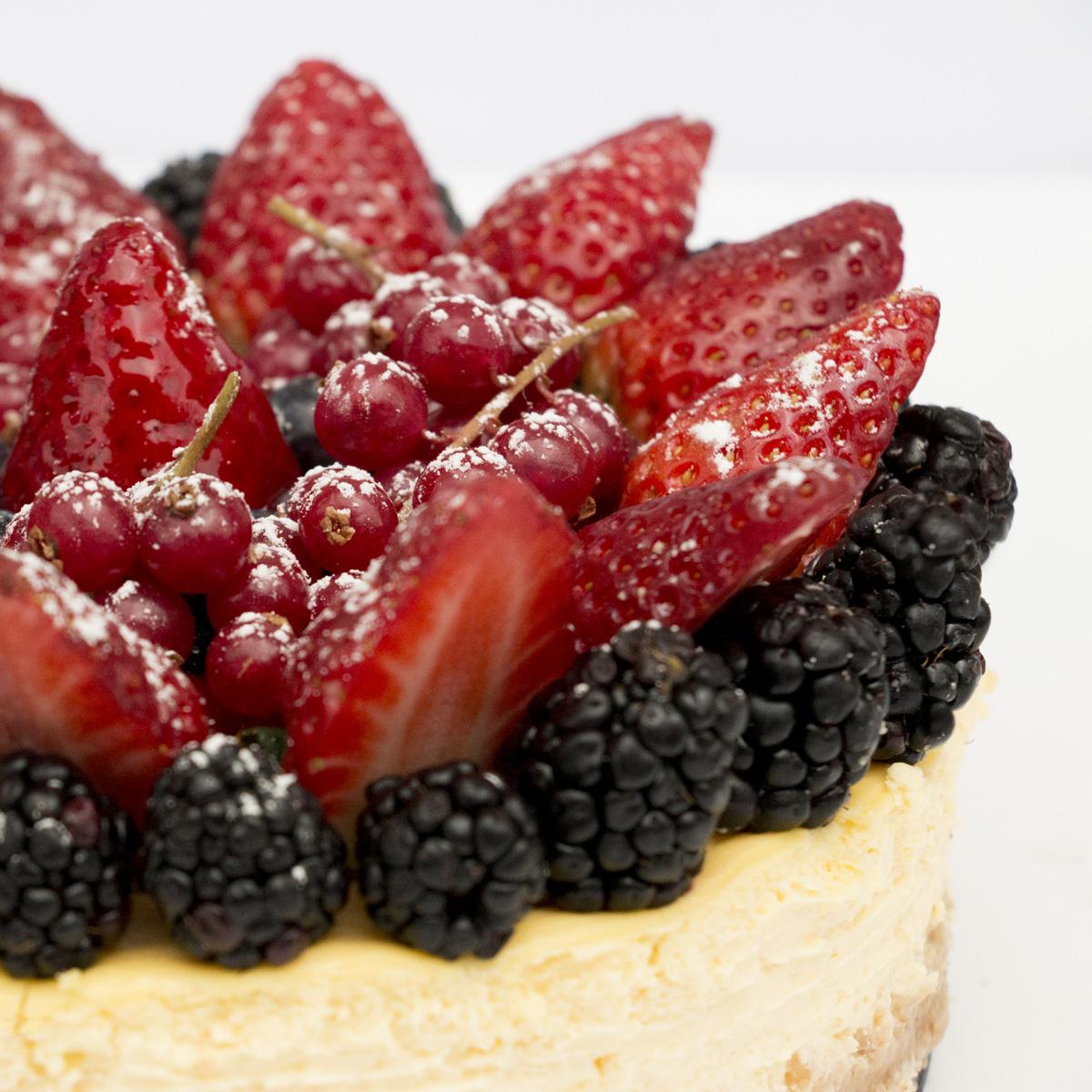 Soft Fruits Cheesecake
