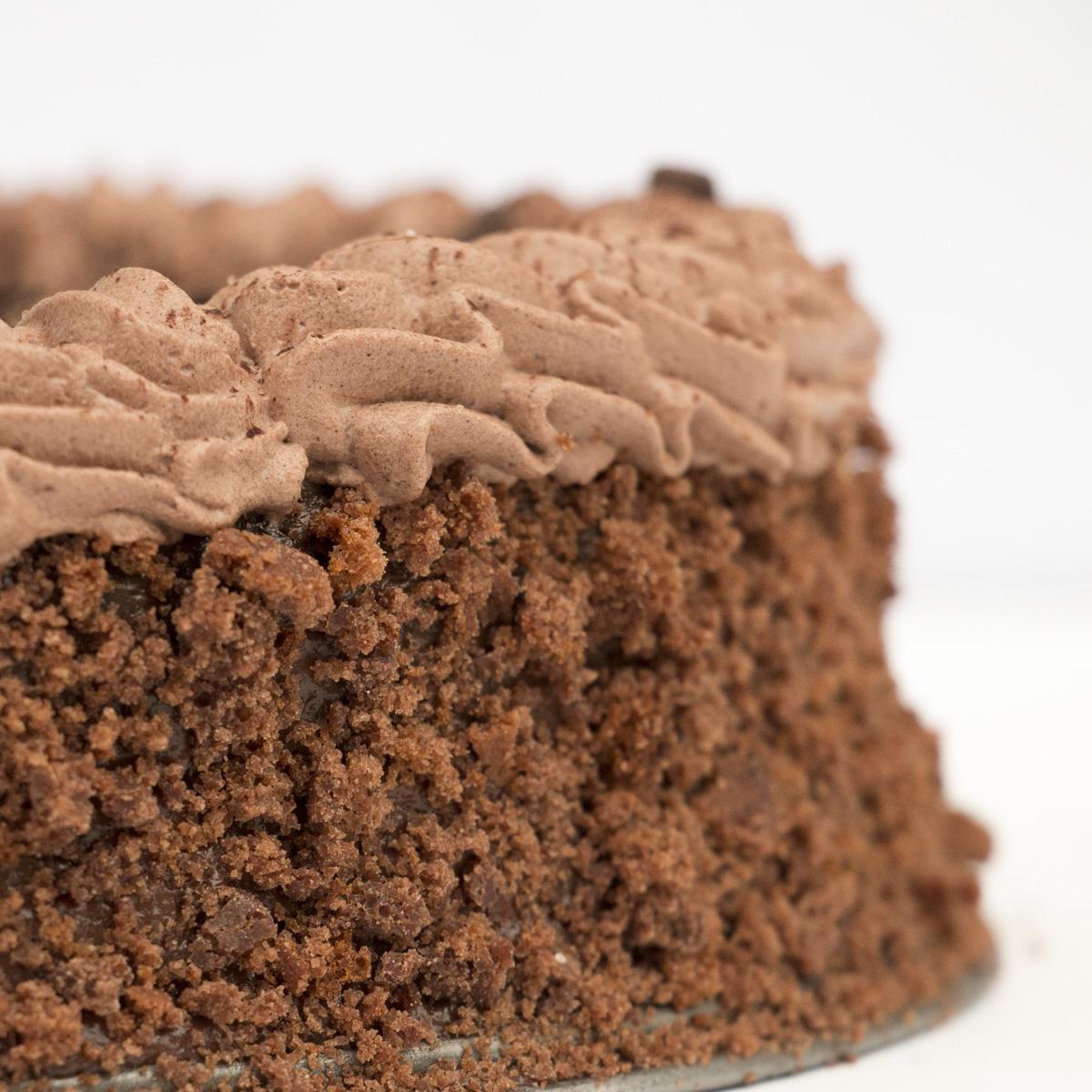 Fudge Frosting Chocolate Cake
