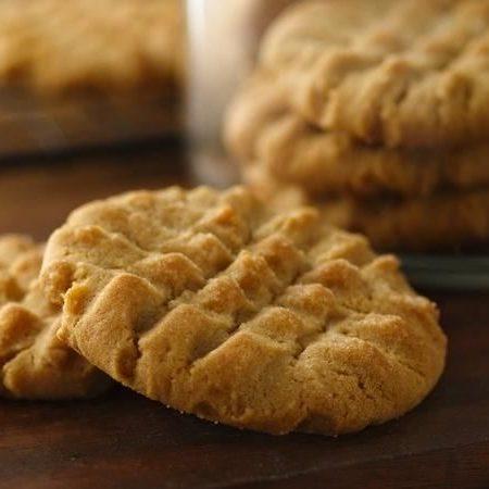 Crisscross Peanut Butter Cookie