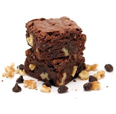 Brownie Chocolate and Walnuts